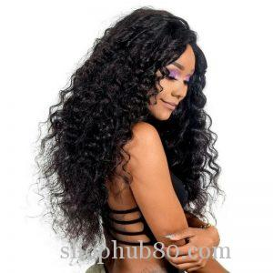 Jerry Curly Full Lace Wig