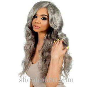 Body Wave Full Lace Wig – Grey